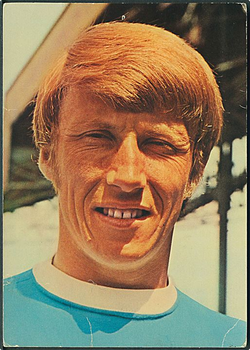 Fodboldspiller Colin Bell. Manchester City F. C. and England. Coffer London no. P/132.