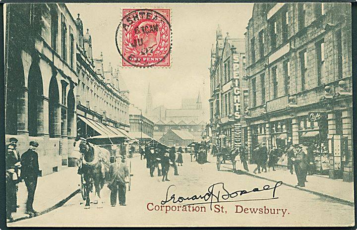 Dewsbury, Corporation Street. H. Graham Glen u/no.