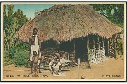 Trinidad. Indian Hut. Davidson & Todd no. 20.