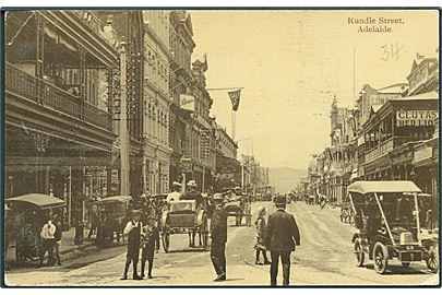 Rundle Street, Adelaide. Donald Taylor Collotype Company u/no.
