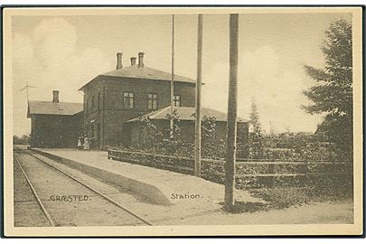 Græsted station. Stenders no. 22755. Kvalitet 9