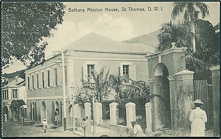 D.V.I., St. Thomas, Bethany Mission House. Lightbourn u/no. Kvalitet 8