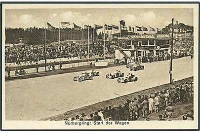 Start på Nürnburgring i 1930'erne. J. Alex Klein no. 8706. Kvalitet 9
