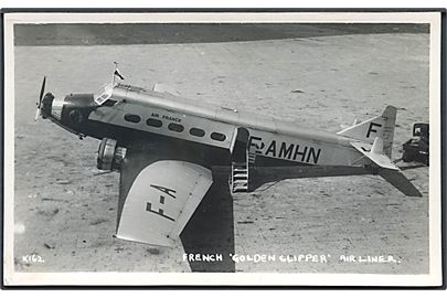 "Wibault 280.T12 F-AMHN ""Le Vaillant"" fra Air France. No. K162. Kvalitet 8"