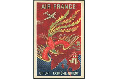 Air France, Orient extréme-orient. Alépée & Co. no. 259-P-7/48. Kvalitet 7