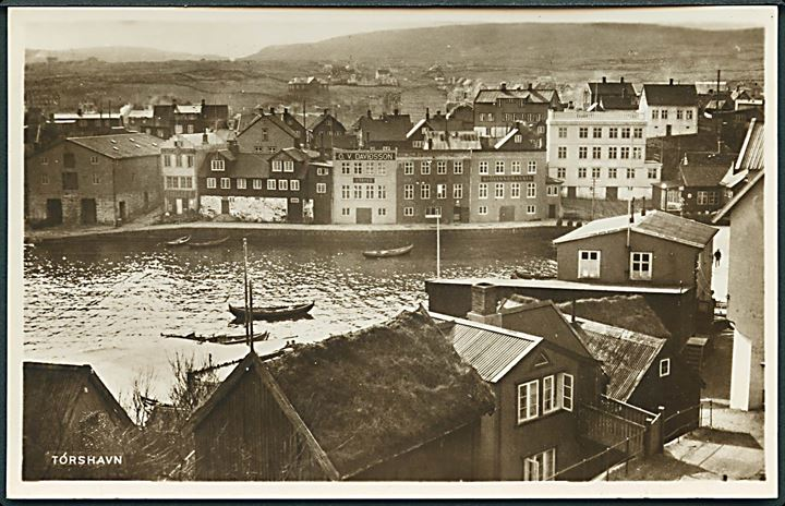 Thorshavn, havneparti. H. N. Jacobsen u/no. Kvalitet 9