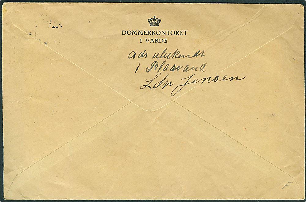 brev med afleveringsattest
