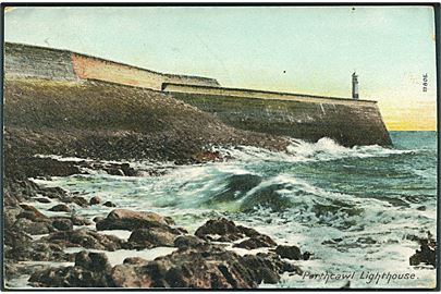 Porthcawl Lighthouse, England. The Wren?n Series no. 13805.