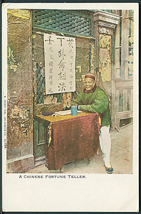 A Chinese Fortune Teller. M. Rieder no. 625.