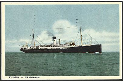 S/S Suecia. Swedish Lloyd u/no.