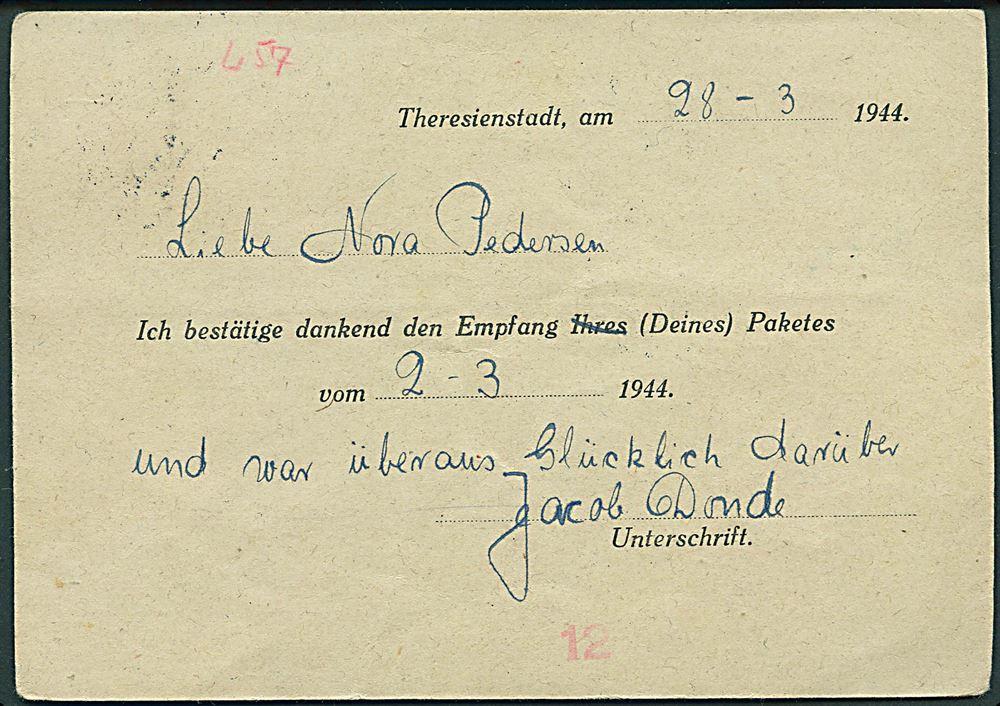 Bohmen Mahren 60 H Hitler Pa Kvitteringsbrevkort For Modtaget