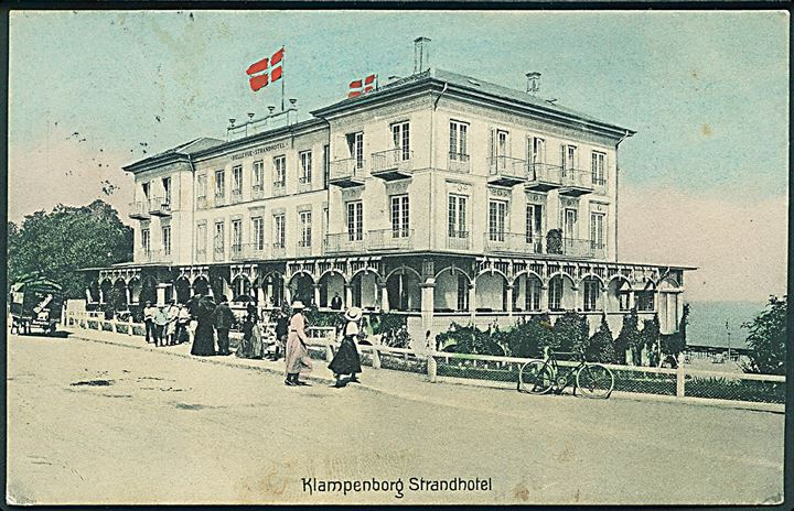 Klampenborg Strandhotel. Alex Vincents no. 38.