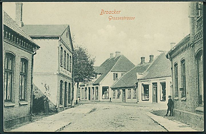 Broager, Grossesstrasse. Th. Lau no. 07 2707.