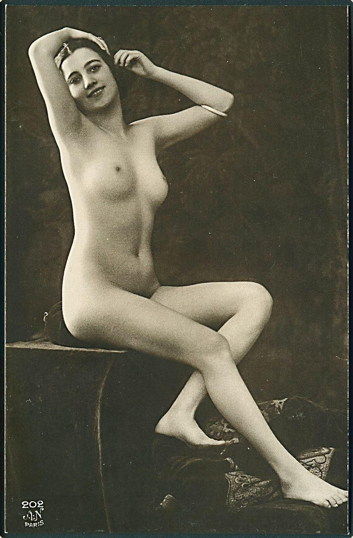 Erotisk nøgen kvinde pic