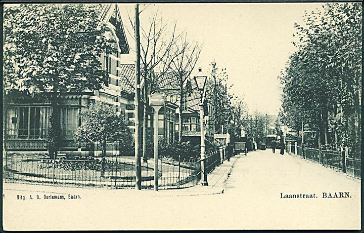 Holland. Laanstraat, Baarn. A. B. Oerlemans u/no.