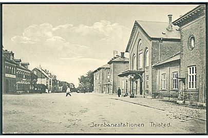 Thisted Jernbanestation. C. Buchholtz no. 39.