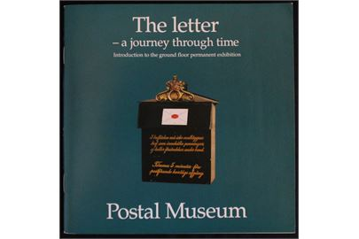 The letter - a journey through time. Svenske postmuseum 52 sider.