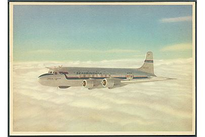 Scandinavian Airlines System's Douglas DC-6 aircraft - the Alvar Viking. ULTRA u/no.