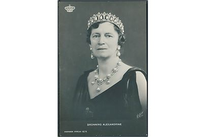 Dronning Alexandrine. Stenderes no.4176.