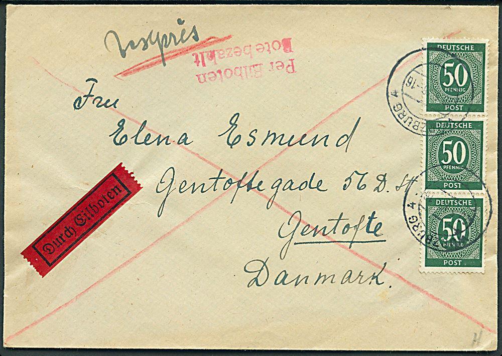 ekspresbrev post danmark