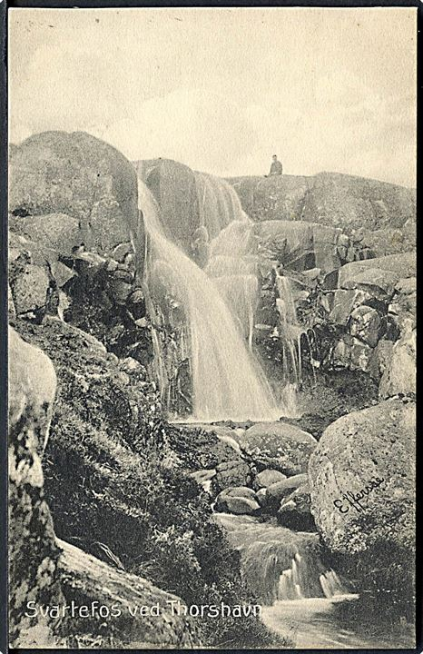 Thorshavn, Svartefoss. H. N. Jacobsen u/no.
