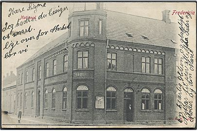 Fredericia. Etablissement National. Warburgs Kunstforlag no. 588.
