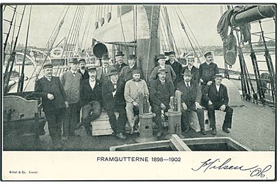 Polar. Framgutterne 1898-1902. Mittet & Co. u/no. Kvalitet 8
