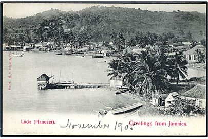 Greetings from Jamaica. Lucia (Hanover). H. S. Duperly no. 31.