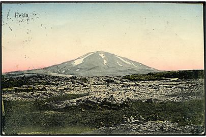 Island. Hekla. O. Johnson no. 18916.