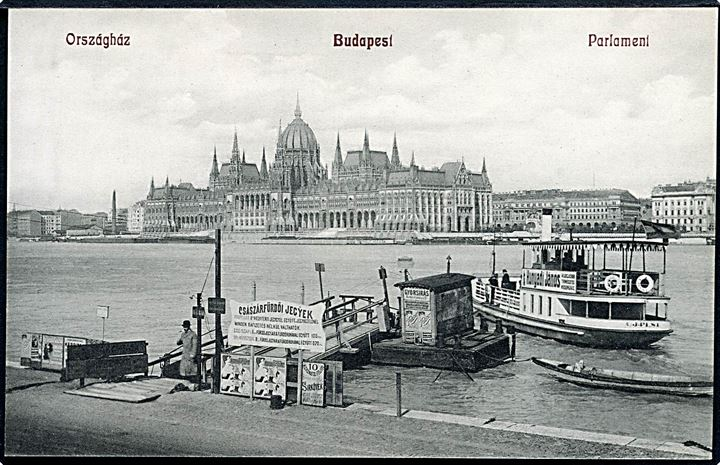 Ungarn. Budapest Parlament. N. M. Bp no. 417.