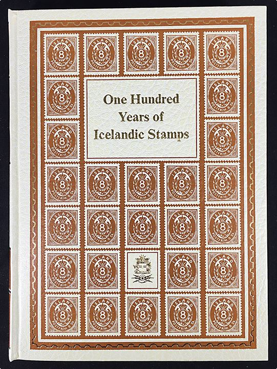 One Hundred Years of Iceland Stamps, Jon Adalsteinn Jonsson. Pragtværk i kassette. 471 sider.