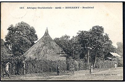 Afrique Occidentale. Guinée. Konakry. Boulbiné. Collection Generale no. 187.