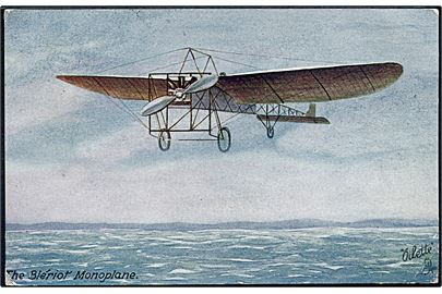 Blériot Monoplane. Tuck's & Sons Famous Aeroplanes no. 9943.
