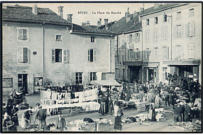 Frankrig. Rives. La Place du Marché. Chabert u/no.