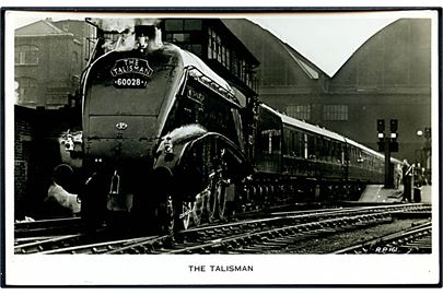 The Talisman, Scottish Express tog mellem London og Edinburgh. Valentines no. R.P.161.