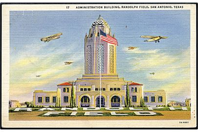 Randolph Field, San Antonio, Air Training Command hovedkvarter med flyvere.