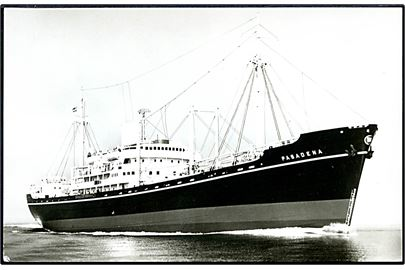 M/S Pasadena. The East Asiatic Company u/no.