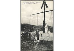 D.V.I., St. Thomas, Hassel Island. Signal Station at Cowell's Battery. Lightbourn u/no.