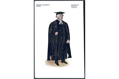 Oxford University Robes. Doctor of Divinity ( Undress). U/no.