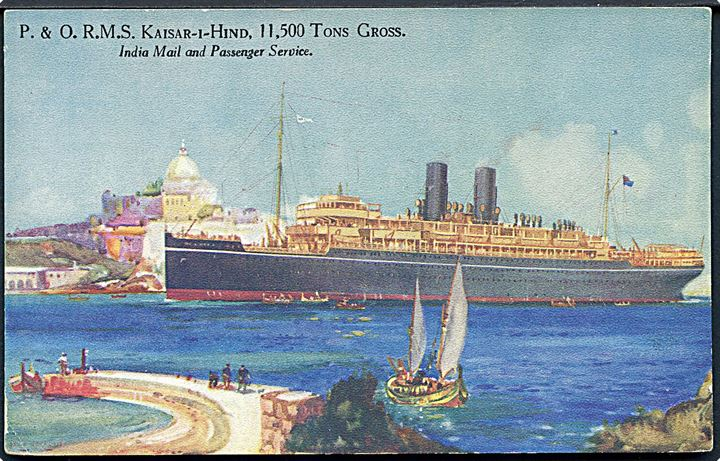 Kaisar-I-Hind, S/S, Peninsular and Oriental Steam Navigation Company. U/no.
