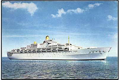 Oriana, M/S, Peninsular and Oriental Steam Navigation Company. No. SS117.
