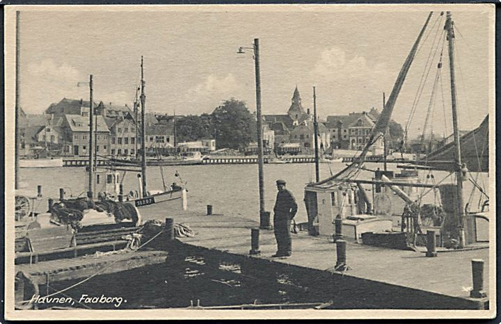 Faaborg Havn. Stenders no. 86077.