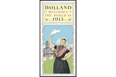 Holland - welcomes the world in 1913. Kalender.