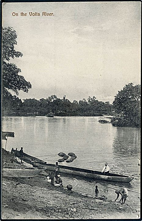 Gold Coast. On the Volta River. Basel Mission no. 3.