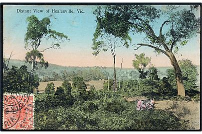 Victoria, Distant view of Healesvile. U/no.