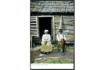 USA, Aunt Ann and Uncle Nat. Tuck & Sons' Old Folks at Home no. 2421.