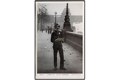 England, London Life - District Messenger. Rotary Photo no. 10513-11