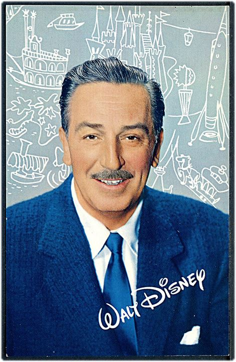 Walt Disney. Disneyland Inc. u/no.