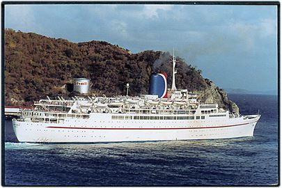 Festival, M/S, Carnival Cruise Line - ex. Transvaal Castle.
