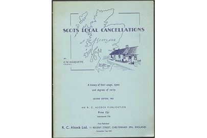 Scots local cancellations, C. W. Meredith. 2. udg. 30 sider.